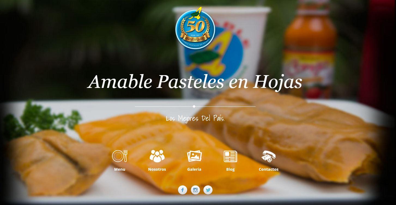 Amable Pasteles en Hojas