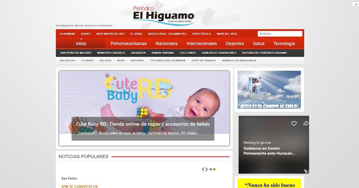 Periódico El Higuamo